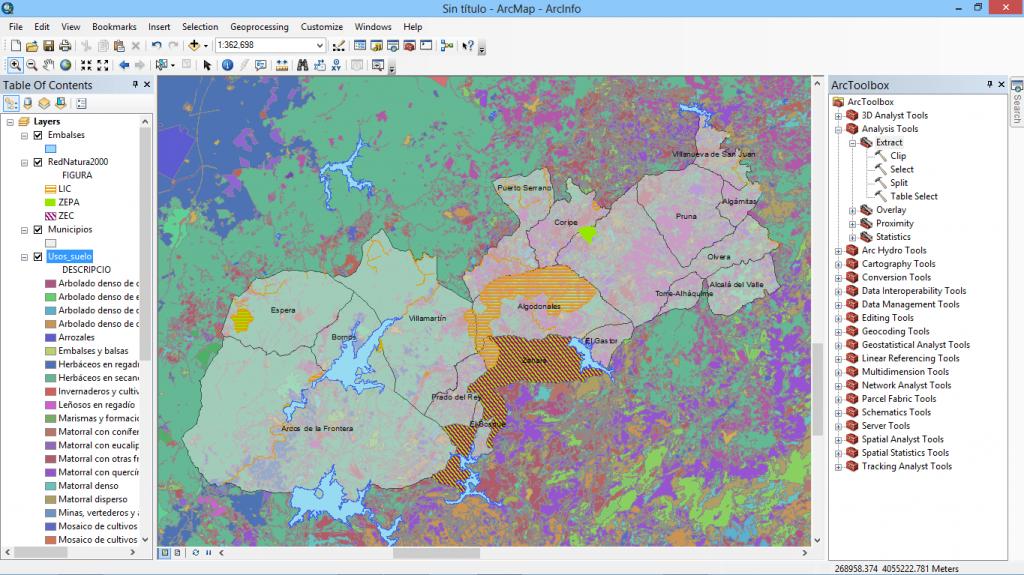Geoprocesamiento con ArcGIS