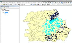Selección de entidades vectoriales con ArcGIS