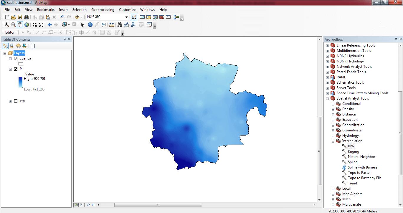Sustituir valores de un raster con ArcGIS 01