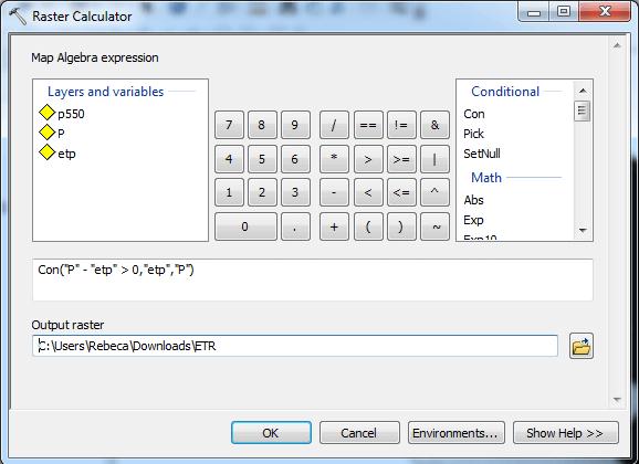 Sustituir valores de un raster con ArcGIS 04