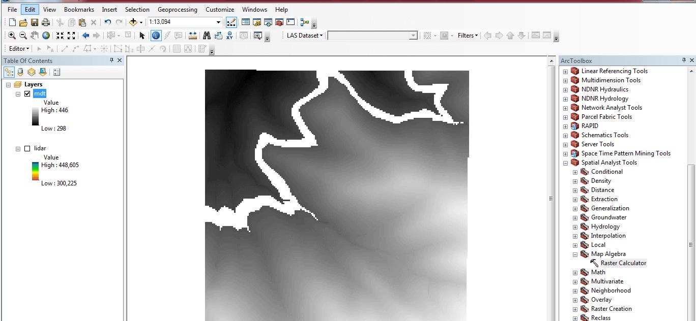 Sustituir valores de un raster con ArcGIS