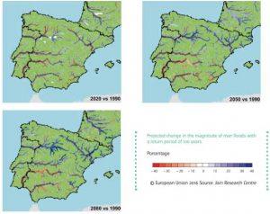 Inundaciones y cambio climático