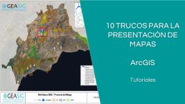 10 trucos de ArcGIS para la presentación de mapas