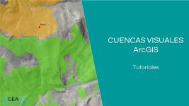 Cuencas Visuales con ArcGIS