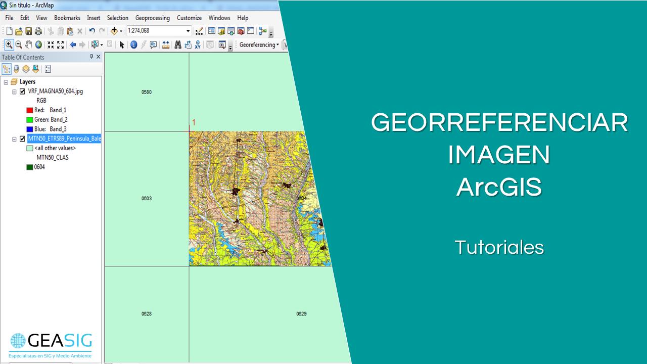 En este momento estás viendo Georreferenciar imagen con ArcGIS
