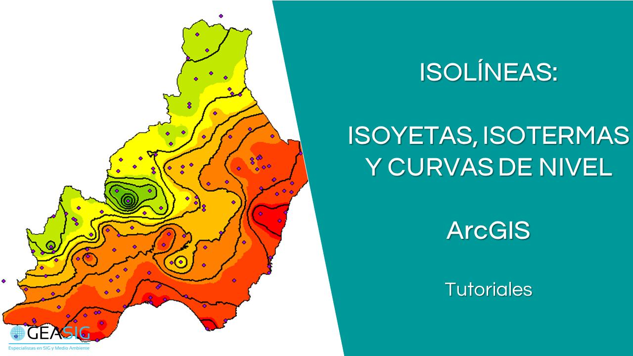 Mapas de isolíneas con ArcGIS