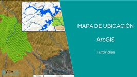 Mapa de ubicación con ArcGIS para la presentación de mapas