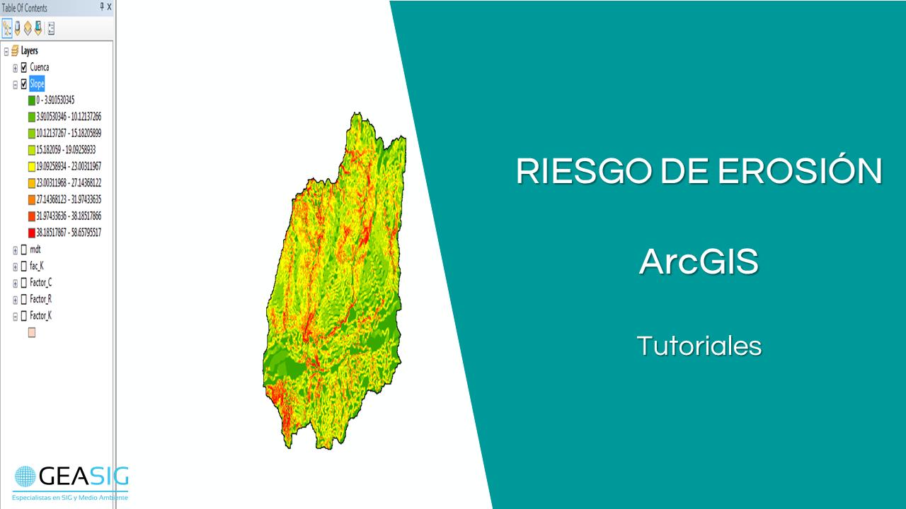 En este momento estás viendo Análisis de Erosión con ArcGIS