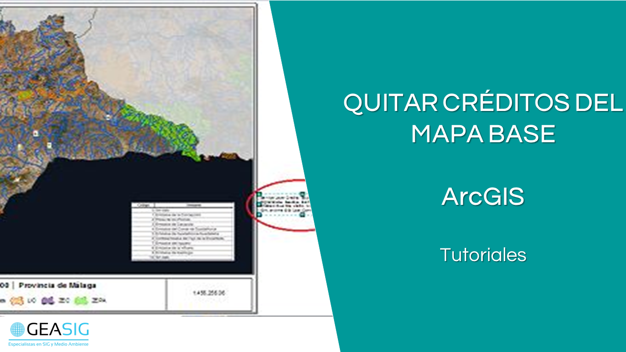 En este momento estás viendo Quitar los créditos del mapa base en ArcGIS