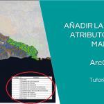 añadir tabla atributos mapa arcgis